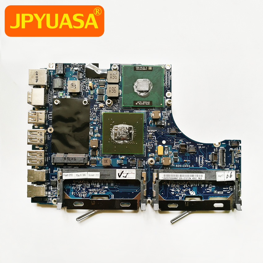 все цены на Laptop Logic Board For Apple Macbook 13'' A1181 Motherboard CPU 2.13GHz P7450 820-2496-A 661-5242 MC240LL/A 2009 Year онлайн