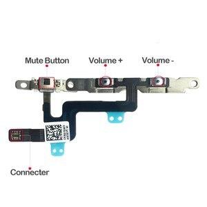 Image 4 - 1 Pcs Voor Iphone 6 6 Plus Volume Knop En Silent Switch Flex Kabel Met Beugels Voorgeïnstalleerd