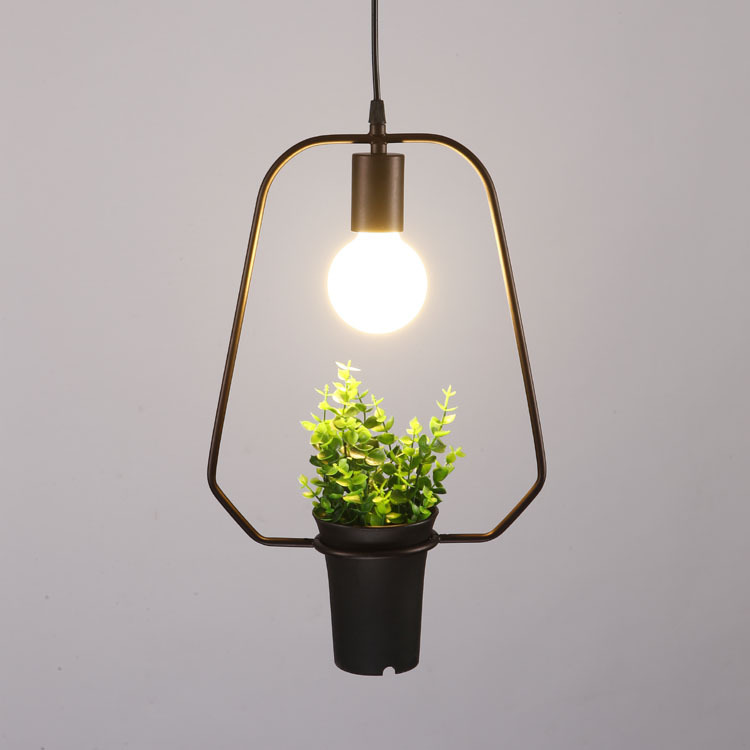 New Style Iron Art Vintage Plant Personality Pendant lamp American Restaurant Lamp for dining room Living Room resturant N1307 chinese style iron lantern pendant lamps living room lamp tea room art dining lamp lanterns pendant lights za6284 zl36 ym