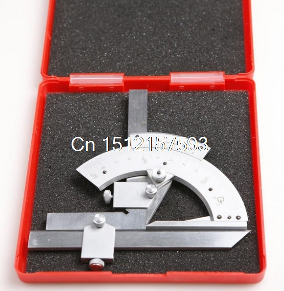 0-320 Precision Angle Measuring Finder Universal Bevel Protractor Tool 2pc 20x20mm r angle ultra precision nano cylinder making light diffraction grating spectrum precision measuring elements