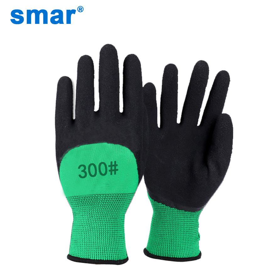 Smar 5 Pcs Best Selling Latex Microfine Foam Gloves Green & Black Safety Working Gloves Men Muti-Function Gloves Free ShipSmar 5 Pcs Best Selling Latex Microfine Foam Gloves Green & Black Safety Working Gloves Men Muti-Function Gloves Free Ship