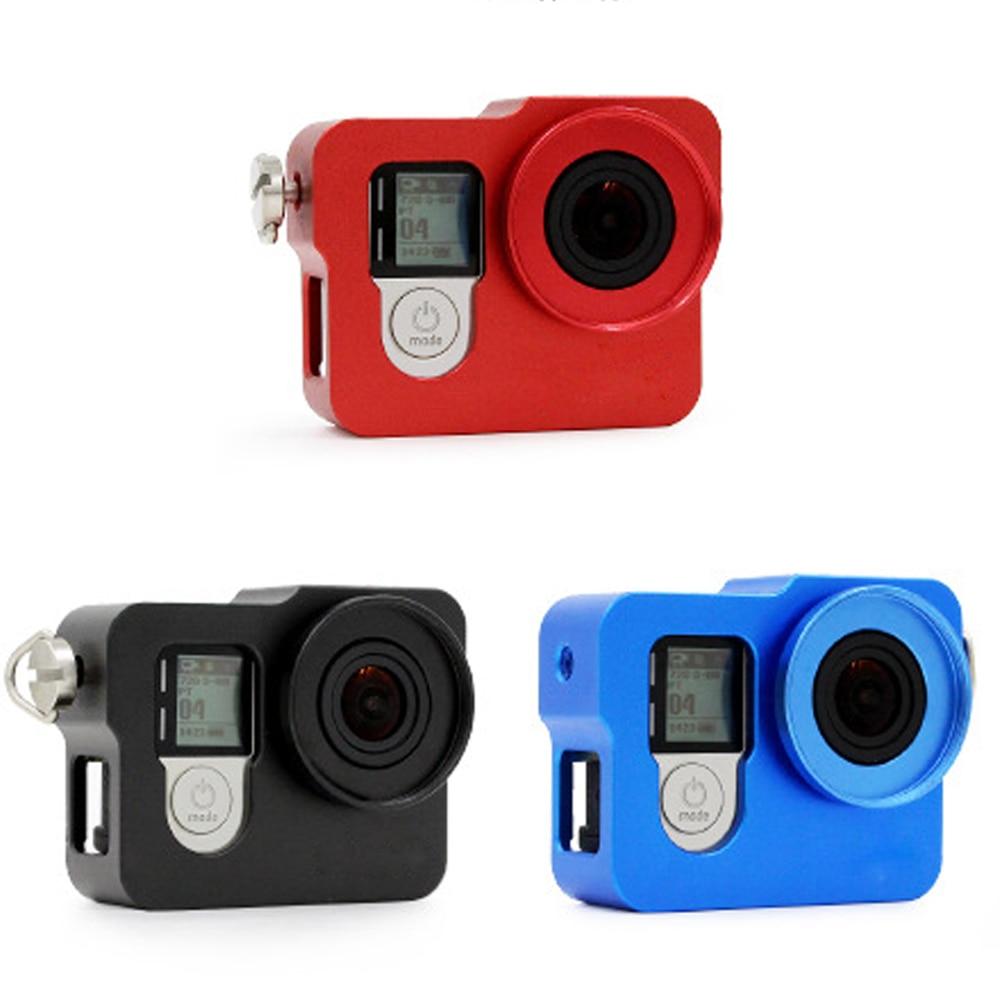 GoPro için Alüminyum Kabuk Çerçeve Koruyucu Konut Case UV Filtre - Kamera ve Fotoğraf - Fotoğraf 4
