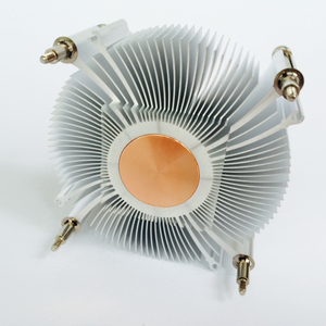 Image 4 - CPU cooler radiator cooling heatsink for Intel LGA1155 / 1156 93*93*35mm Aluminum radiator fan cooling Computer heatsink