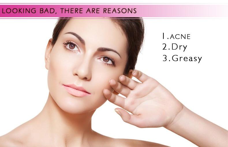 Hyaluronic Acid Serum + VC Snail Serum Collagen Serum Anti-Aging For men and women Moisturizing Skin Care Whitening Brighten 12
