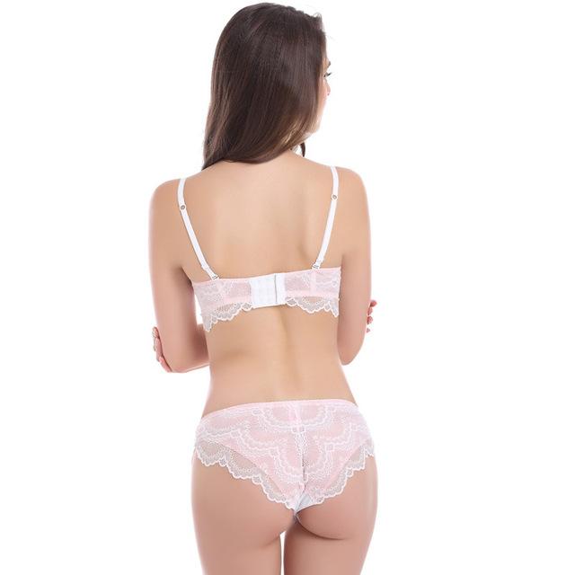 CYHWR 2017 NEW Stylish  Lace Bra Set Women BRA Sexy Lingerie Lace Underwear A B C D Cup bra set