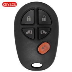 Keyecu XHORSE для Toyota Тип универсальный пульт брелок 5 Кнопка для VVDI ключевым инструментом VVDI2 (английская версия)