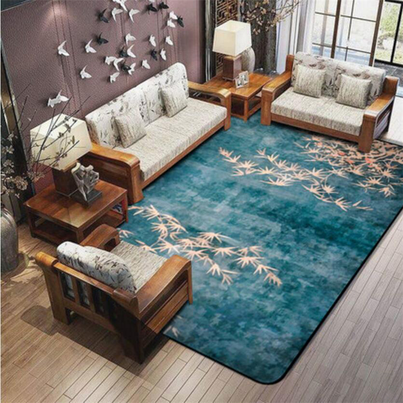Style chinois traditionnel doux tapis délicats pour salon chambre enfant chambre tapis maison tapis plancher porte tapis mode tapis