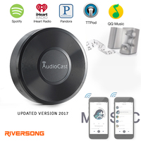 Riversong Wireless AudioCast Airplay DLNA Music Receiver 3 5mm Audio Receiver DLNA Aiplay Wifi Music Adapter
