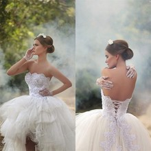 2767eee2c3 Buy high low wedding dress and get free shipping on AliExpress.com