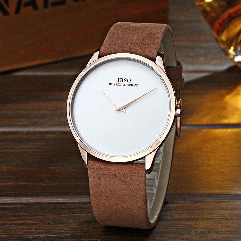 Тонкие мужские наручные часы