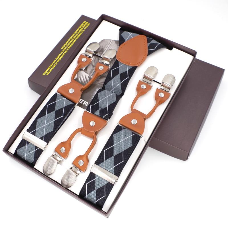 Hosenträger Mode Hosenträger Hosen Suspensorio Menino Boxed Strap - Bekleidungszubehör - Foto 5