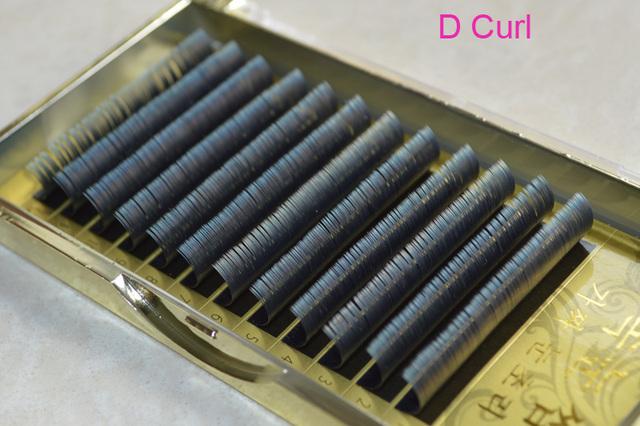 8 cajas de Pestañas Elipse Plana de alta calidad, seda pestañas de visón, elipse Plana Extensión de Pestañas Falsas de Ahorro de Tiempo