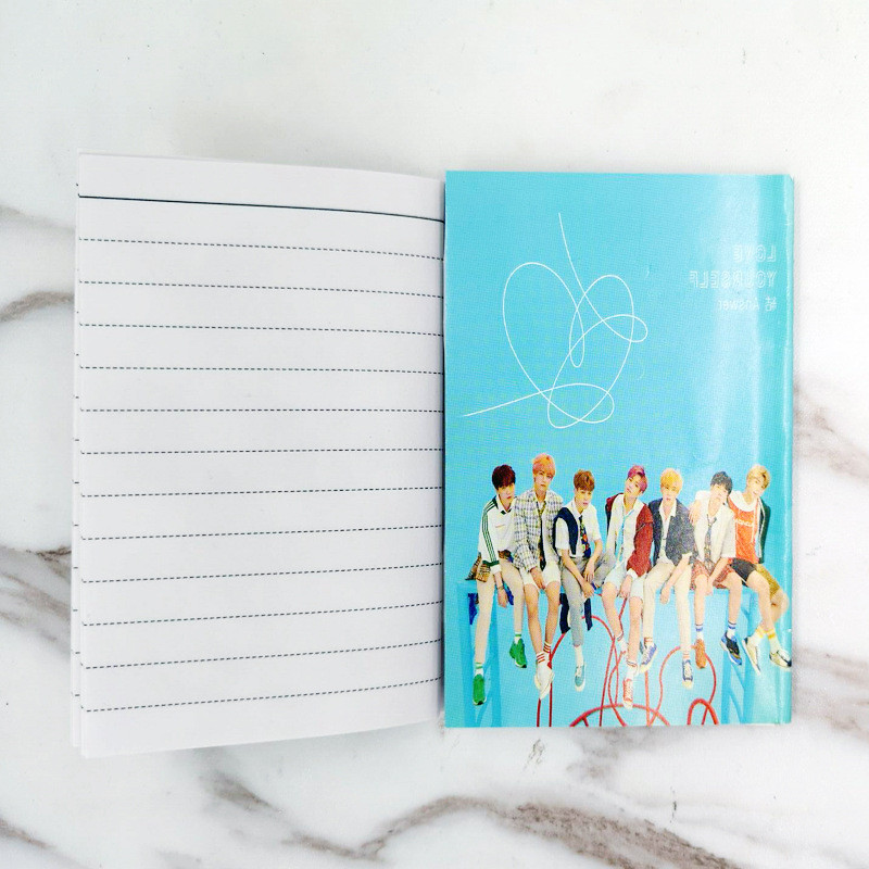 Novelty & Special Use Bts Bangtan Boys Love Yourself Answer Album Peripheral Photo Album Notebook Jimin Suga V J-hope Rm Jungkook Hf262 Colours Are Striking Costume Props