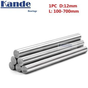 1pc d:12mm 100-600mm 3D printer rod shaft 12 mm linear shaft  chrome plated rod shaft CNC parts  Kande 2pcs lot linear shaft 6mm 200mm rod shaft wcs 6mm linear shaft l200mm chrome plated linear motion guide rail round rod