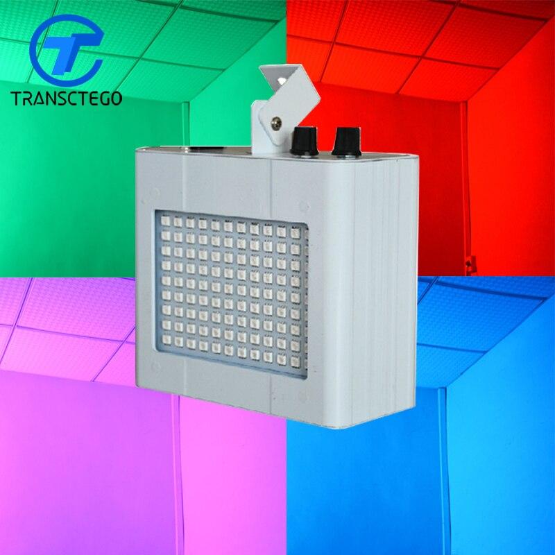 LED commande vocale du son lampe de scène scintillement KTV Flash lampe stroboscopique lumière Laser économie d'énergie
