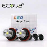 LED Angel Eyes for BMW E39 E60 E53 X5 E83 X3 E61 E63 E64 E65 E66 E87 BMW LED Side Marker Light Bulb Canbus White Blue Red Yellow