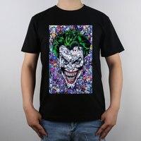 Paris Comics Expo Exclusive The Joker T Shirt Top Pure Cotton Men T Shirt New Design