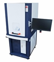 MOPA color laser on mental fiber laser marker engraving cutting machine for mental/jewerly