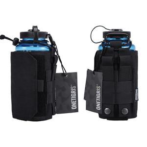Image 4 - Onetigris cantil bolsa 1000d náilon molle ajustável tudo em um portador para 32oz nalgene garrafa de água ou nalgene oasis cantina