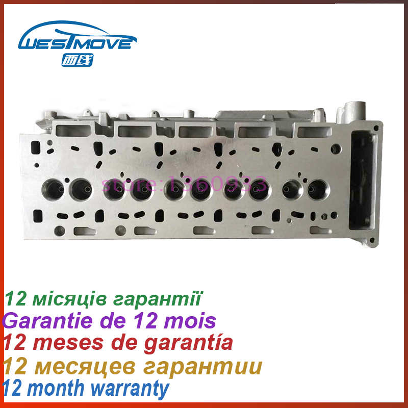 cylinder head for Land Rover Discovery Defender 2495CC 2.5 TDI 10V 2001- ENGINE : TD5 LDF500170 908 762 908762 LDF500020