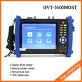 """7 """"Probador de Seguridad CCTV Cámara del Probador Del CCTV Monitor Test HDMI VGA 12V2A HVT-3600MOST DM OPM SDI TDR Tester"""