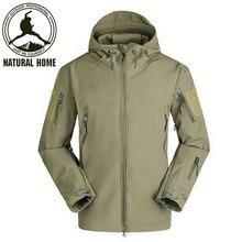 Акулы tad naturalhome softshell альпинизм ветрозащитный спортивная куртки кожи куртка зима