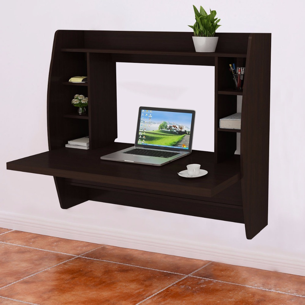 Goplus Living Room Wall Mount Floating Cabinet Modern