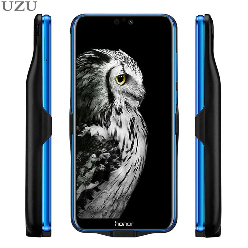 Chargeur à boucle externe étui pour Huawei Honor 9 10 lite 8X Max 20i housse de chargeur sans fil portable pour Huawei P Smart Y9 2019