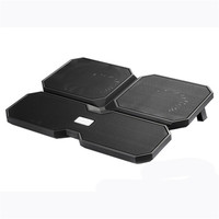 15 Inch Multicore Laptop Cooling Pad Cooler Base USB Metal Mesh Panel With 4 Cooling Fans