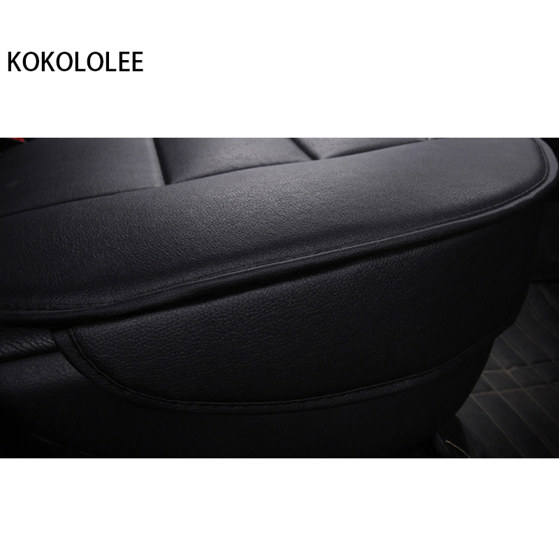 [KOKOLOLEE] pu leather Car seat Covers for KIA All Models Rio K2/3/4 Cerato Sportage cars cushion auto accessories car styling - 4