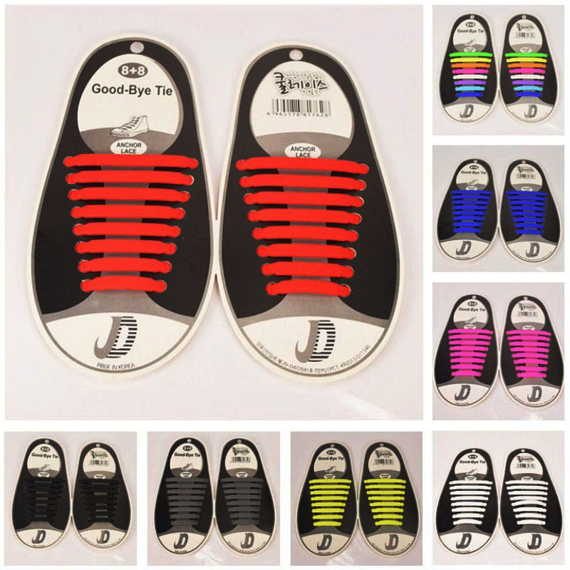 Red-White-Blue Stripe Tricolour Flat Shoelace Athletic Sneaker Colorful Laces