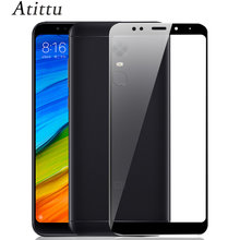 Gehard Glas voor Xiaomi Redmi 5 EEN 5A Plus Glas Ultra Dunne Full Cover Screen Protector voor Xiaomi Redmi Note 5A 5 APrime Glas(China)