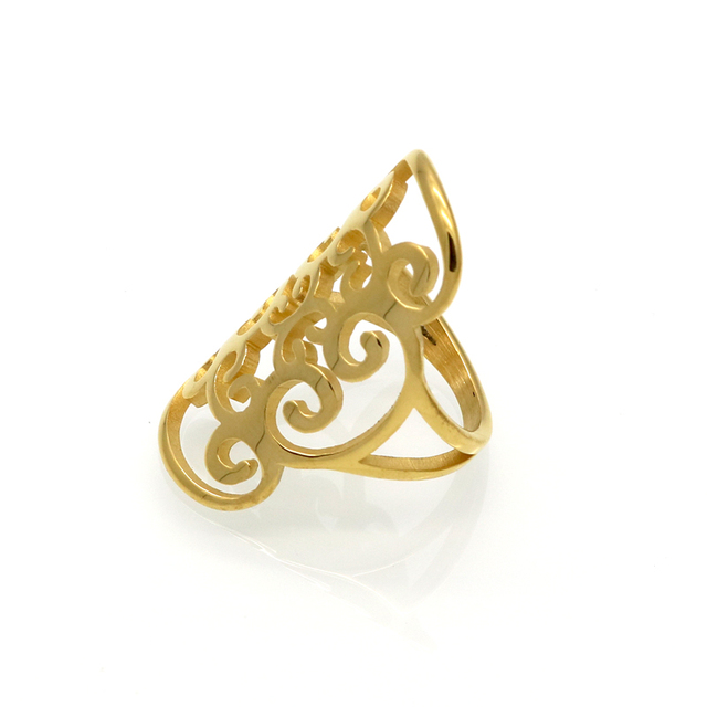 Exquisite Asian Style Long Women Ring