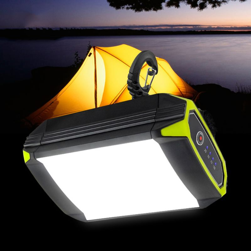 Outdoor Camping Flashlight Mobile Power Bank With USB Port Portable Hanging Lamp Tent Light|Emergency Lights|   - title=