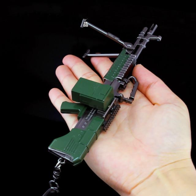 New Automatic Sex Machine Gun Models Toy 17cm Kirsite Monster Heavy Machine  Gun Mk60 M60 Violent