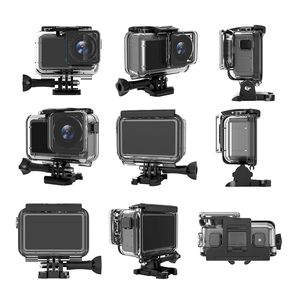 Image 3 - 61M Waterproof Case Set For Dji Osmo Action Accessories Surfing Diving Underwater Housing Box  For Dji Osmo Action Case