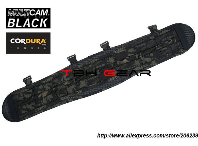 TMC VC Brokos Belt Genuine Multicam Black Tactical MOLLE Combat Belt Pad+Free shipping(SKU12050054)
