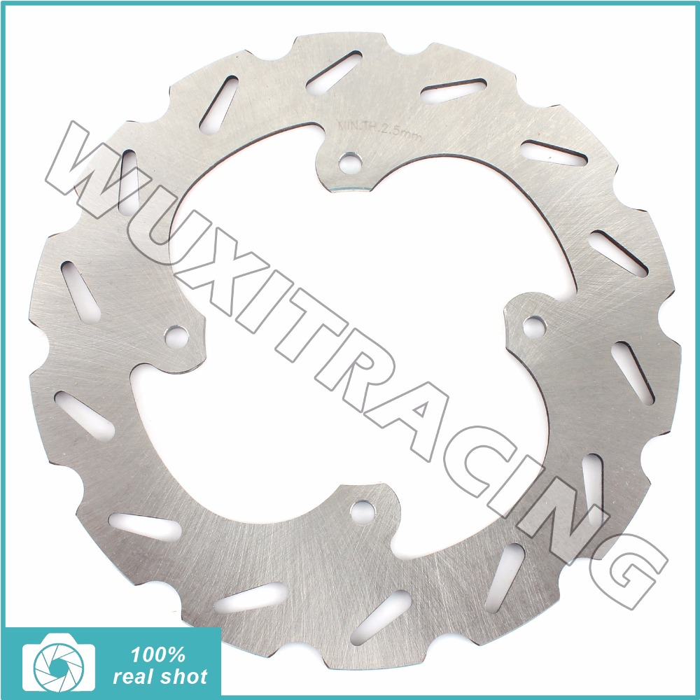1PC New REAR BRAKE DISC BRAKE ROTOR FOR Kawasaki KX85 00-16 KX-85 KX100 KX-100 KX 85 100 05 06 07 08 09 10 11 12 13 14 15 16