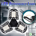 6000LM LED Vervormbare Garage Licht Sensor Motion Activated Plafondlamp LED Industriële Hoge Baai Licht Menselijk lichaam sensing #2U14