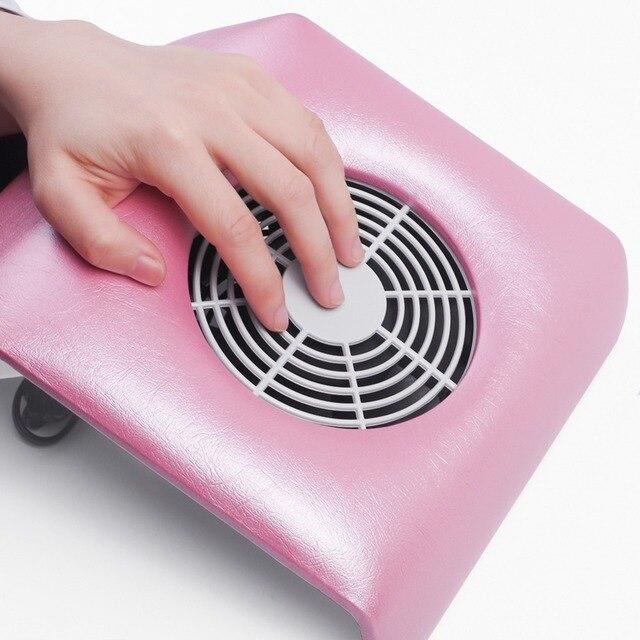 220 v/110 v Aspirador de pó para Gel Polonês Da Arte Do Prego Cola UE/EUA Plug Prego Poeira Fã coletor de aspiração Manicure para Nail art