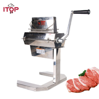 ITOP Stainless Steel 5'' Meat Tenderizer Needle Steak Beaf Pork Pounders Kitchen Heavy Duty Meat Tools Machine