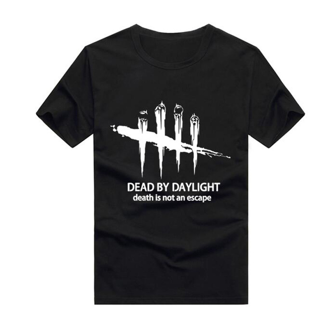 US $14 69 30% OFF|2019 t shirt Fashion Normal Dead by Daylight Men's  tshirts Latest Short Sleeve Organic Promotion Men's t shirt-in T-Shirts  from