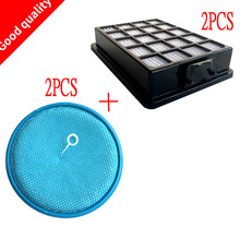 4Pcs/lot Vacuum cleaner accessories parts dust filters H13 Hepa For samsung SC21F50 SC15F50 FLT9511 Pet Sensor VCA VH50 etc..