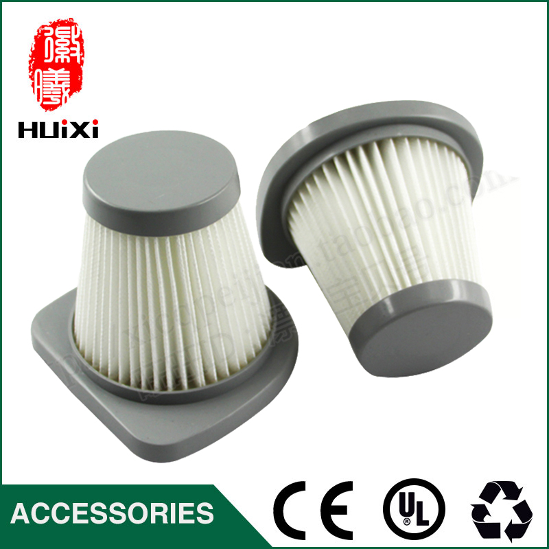 2 PCS 49*83mm size  White hepa filter for vacuum cleaner accessories and parts of filter element SC861 SC861A 142 126mm size plastic and steel wire frame hepa filter and the original of hepa vacuum cleaner parts for gy308 15l gy309 18l
