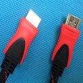 9FT 1.5 М, 3 М, 5 М, 10 М, 15 М, 20 М, 25 М, 30 М HDMI Чистая Нейлон Кабель 1.4 Версия Позолоченные Разъем Мужчинами Кабель 1080 P Двойной ферритовые Сердечники