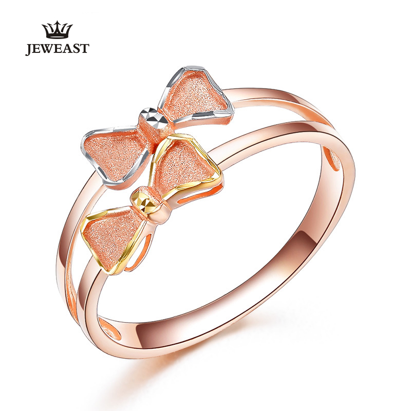 Pt950 gold Pure gold ring real Pt950 solid gold Rings good beautiful upscale trendy Classic party fine jewelry hot sell new 2018 new pure au750 rose gold love ring lucky cute letter ring 1 13 1 23g hot sale