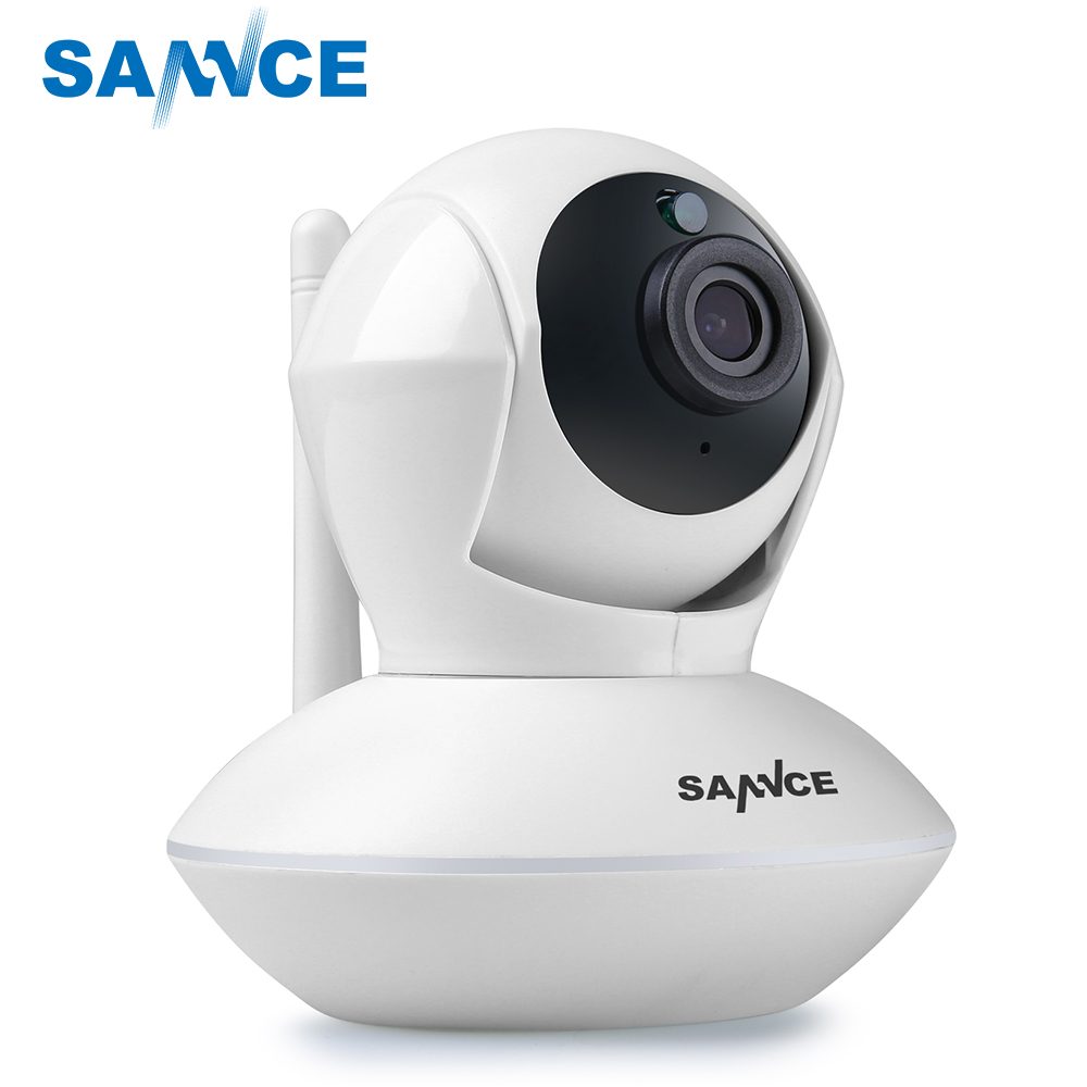 SANNCE 720P Wireless Alarm IP Camera Wifi Wireless Network Surveillance Wi-fi Family Security Camera Baby Monitor CCTV Camera
