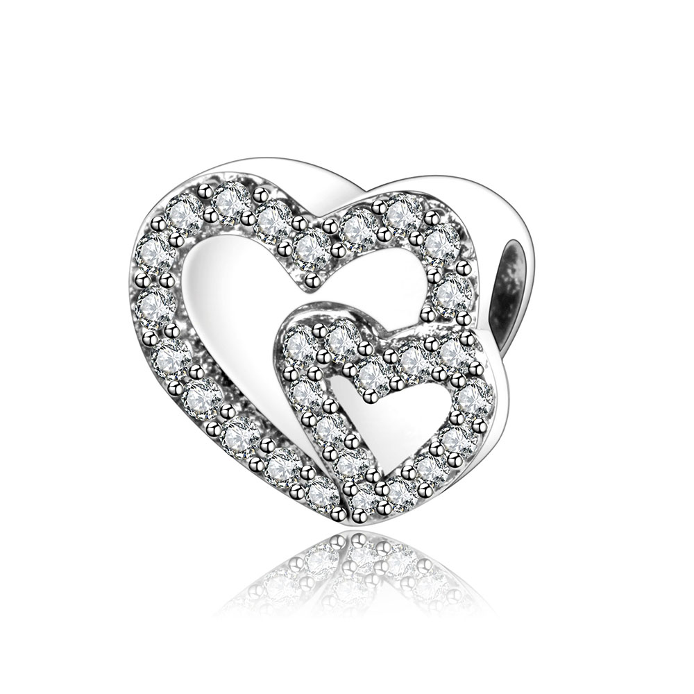 Fit Original Pandora Charm Bracelet 925 Sterling Silver