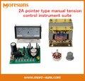 Conjunto de instrumentos de control manual de la tensión puntero 2A embrague freno de polvo Magnético tablero de medidor de corriente transformador de par de frenado