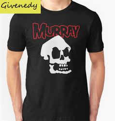 Hot sale 2016 new summer design misfit murray printed short sleeve t shirt 100 cotton tops.jpg 250x250